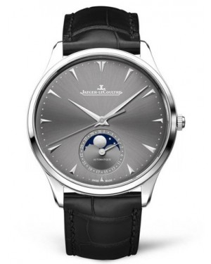 AAA Replica Jaeger-LeCoultre Master Ultra Thin Moon White Gold Watch 1363540