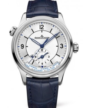 AAA Replica Jaeger-LeCoultre Master Geographic Stainless Steel Watch 1428530