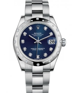 AAA Replica Rolex Datejust 31mm Stainless Steel Ladies Watch 178344-0029