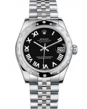 AAA Replica Rolex Datejust 31mm Stainless Steel Ladies Watch 178344-0034