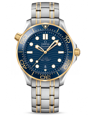 AAA Replica Omega Seamaster Diver 300M Master Co-Axial Watch 210.20.42.20.03.001
