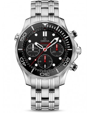 AAA Replica Omega Seamaster 300m Diver Co-Axial Chronograph 42mm Mens Watch 212.30.42.50.01.001