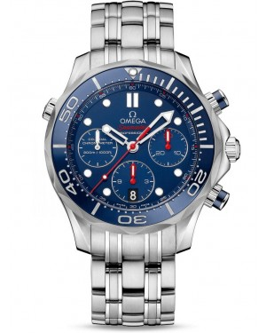 AAA Replica Omega Seamaster 300m Diver Co-Axial Chronograph 42mm Mens Watch 212.30.42.50.03.001
