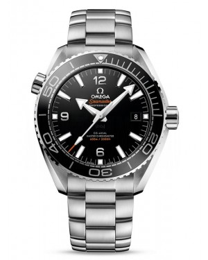 AAA Replica Omega Seamaster Planet Ocean 600M 43.5 Master Chronometer Black Dial Watch 215.30.44.21.01.001