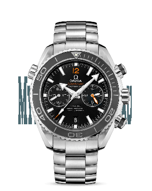 AAA Replica Omega Seamaster Planet Ocean 600M Co-Axial Master Chronometer Chronograph Michael Phelps Watch 215.30.46.51.01.003
