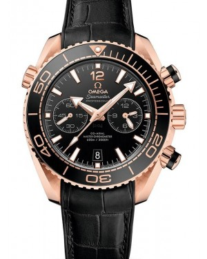 AAA Replica Omega Seamaster Planet Ocean 600M Co-Axial Master Chronograph Sedna Gold Watch 215.63.46.51.01.001