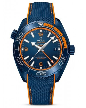 AAA Replica Omega Seamaster Planet Ocean 600M Co-Axial Master Chronometer GMT Big Blue Watch 215.92.46.22.03.001