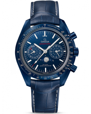 AAA Replica Omega Speedmaster Moonphase Chronograph Master Chronometer Watch 304.93.44.52.03.001