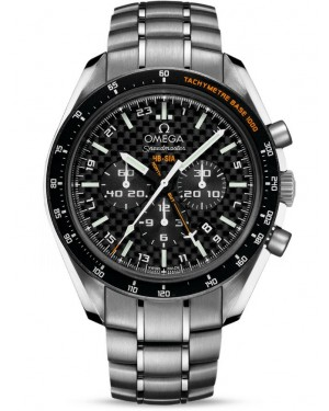AAA Replica Omega Speedmaster HB-SIA GMT Chronograph SOLAR IMPULSE Mens Watch 321.90.44.52.01.001