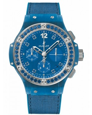 AAA Replica Hublot Big Bang Linen Ocean Blue Watch 341.XL.2770.NR.1201