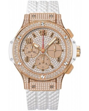 AAA Replica Hublot Big Bang Gold White Ladies Watch 341.pe.9010.rw.1704