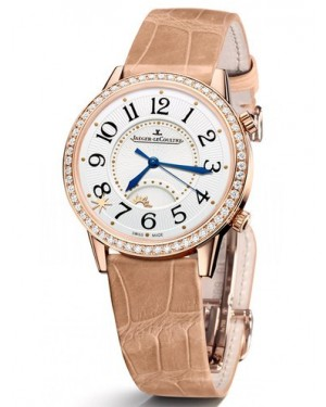 AAA Replica Jaeger-LeCoultre Rendez-Vous Sonatina Large Pink Gold Watch 3592420