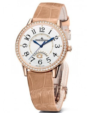 AAA Replica Jaeger-LeCoultre Rendez-Vous Night & Day Medium Pink Gold Watch 3612420