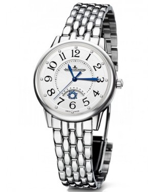 AAA Replica Jaeger-LeCoultre Rendez-Vous Night & Day Large Stainless Steel Watch 3618190