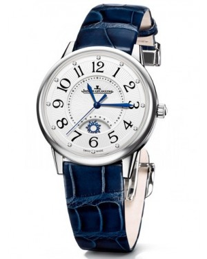 AAA Replica Jaeger-LeCoultre Rendez-Vous Night & Day Large Stainless Steel Watch 3618490