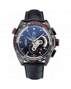 Tag Heuer Carrera Black Stainless Steel Case Black Dial 98247