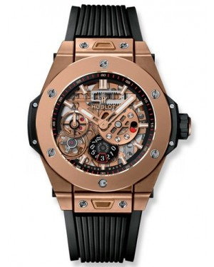 AAA Replica Hublot Big Bang MECA-10 King Gold Mens Watch 414.OI.1123.RX