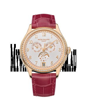 AAA Replica Patek Philippe Annual Calendar Rose Gold Watch 4947R-001