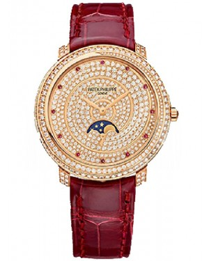 AAA Replica Patek Philippe Complications Diamond Ribbon Joaillerie Watch 4968/400R-001