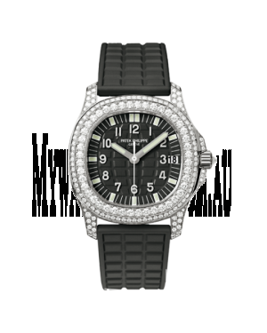 AAA Replica Patek Philippe Aquanaut White Gold Watch 5069G-001