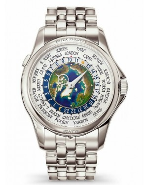 AAA Replica Patek Philippe Complications World Time Platinum Mens Watch 5131/1P-001