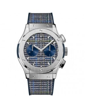 "AAA Replica Hublot Classic Fusion Chronograph Italia Independent ""Prince de Galles"" Watch 521.NX.2701.NR.ITI17"