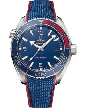 AAA Replica Omega Seamaster Planet Ocean 'PyeongChang 2018' Olympics Limited Edition Watch 522.32.44.21.03.001