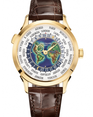 AAA Replica Patek Philippe Complications World Time Watch 5231J-001