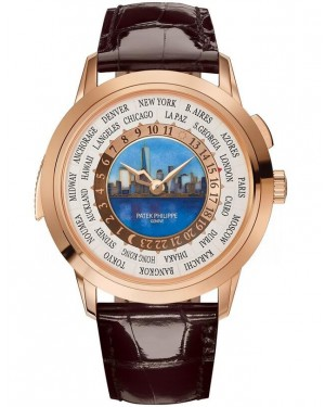 AAA Replica Patek Philippe World Time Minute Repeater New York 2017 Limited Edition Watch 5531R-001