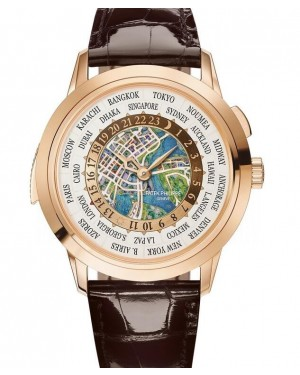 AAA Replica Patek Philippe World Time Minute Repeater Singapore 2019 Special Edition Mens Watch 5531R-013