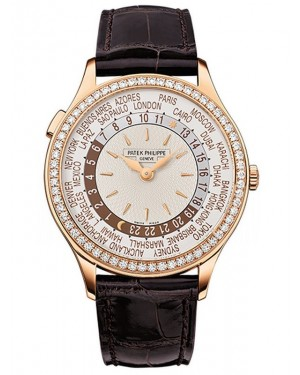 AAA Replica Patek Philippe Complications Rose Gold Ladies Watch 7130R-011