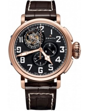 AAA Replica Zenith Pilot Montre d'Aeronef Type 20 Tourbillon Mens Watch 87.2430.4035/21.C721
