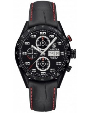 AAA Replica Tag Heuer Carrera Day Date Automatic Chronograph 43mm Mens Watch cv2a81.fc6237