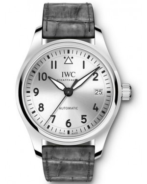AAA Replica IWC Pilot Automatic Silver Dial Mens Watch IW324007