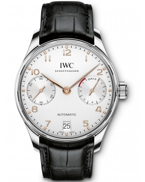 AAA Replica IWC Portugieser Automatic 7 Day Power Reserve Mens Watch IW500704