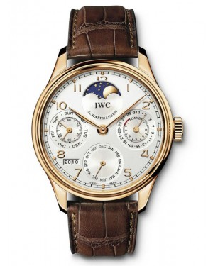 AAA Replica IWC Portugieser Perpetual Calendar Perpetual Moonphase Mens Watch IW502306