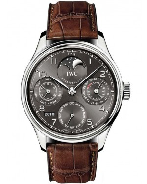 AAA Replica IWC Portugieser Perpetual Calendar Perpetual Moonphase Mens Watch IW502307