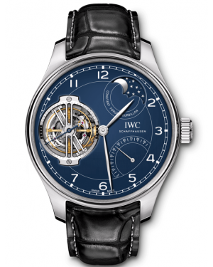 """AAA Replica IWC Portugieser Constant-Force Tourbillon Edition """"150 Years"""" Watch IW590203"""