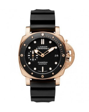AAA Replica Panerai Luminor Submersible 1950 3 Days Automatic Oro Rosso Mens Watch PAM00684