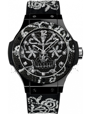 AAA Replica Hublot Big Bang Broderie Skull Ceramic Watch 343.CS.6570.NR.BSK16