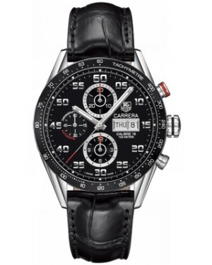 AAA Replica Tag Heuer Carrera Day Date Automatic Chronograph 43mm Mens Watch cv2a1r.fc6235