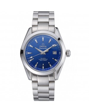 Omega Seamaster Blue Dial Stainless Steel Band 622166
