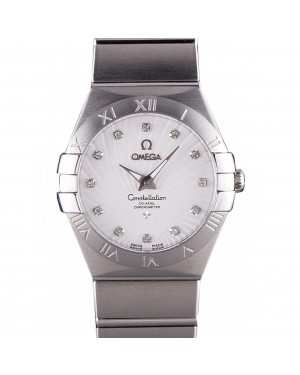 Omega Constellation White Dial Stainless Steel Band 621457