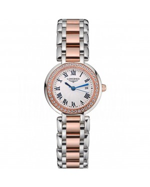 Longines PrimaLuna Stainless Steel And Gold Diamond Case 622585