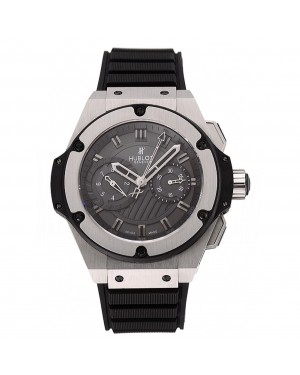 Swiss Hublot King Power Stainless Steel with Rubber Band shb11 621404