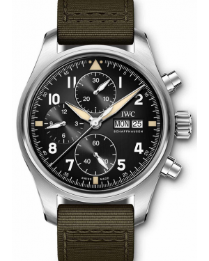 AAA Replica IWC Big Pilot's Chronograph Spitfire Watch IW387901