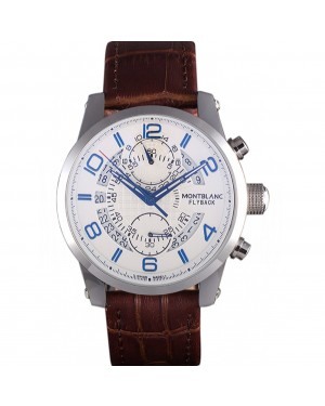 Montblanc Flyback Brown Leather Band 621626