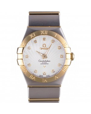 Omega Constellation Gold Bezel Two Tone Band som95 621475