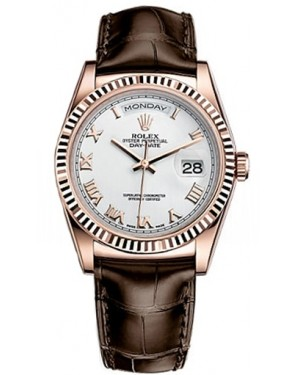 AAA Replica Rolex Day-Date 36mm Automatic Mens Watch 118135-0022